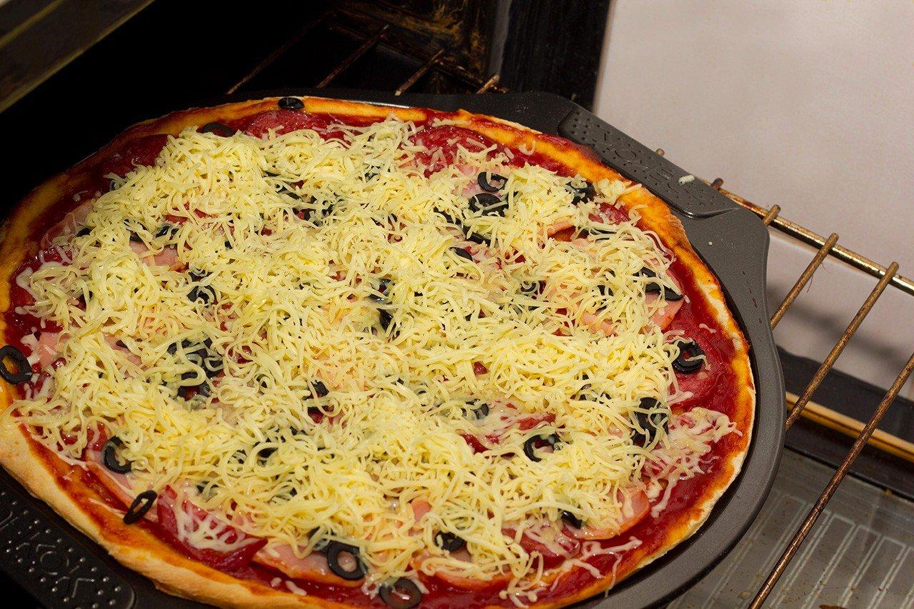 Рецепт пиццы в домашних условиях в духовке с фото ассорти