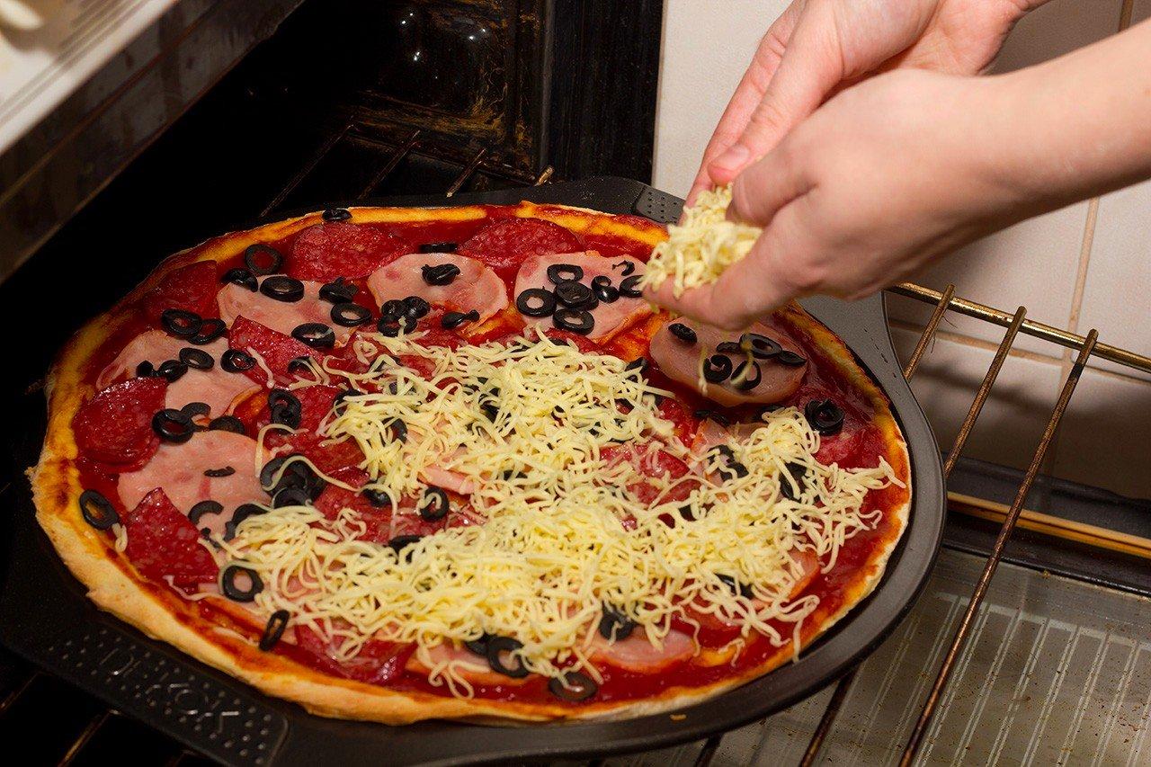 Как сделать домашнюю пиццу без теста